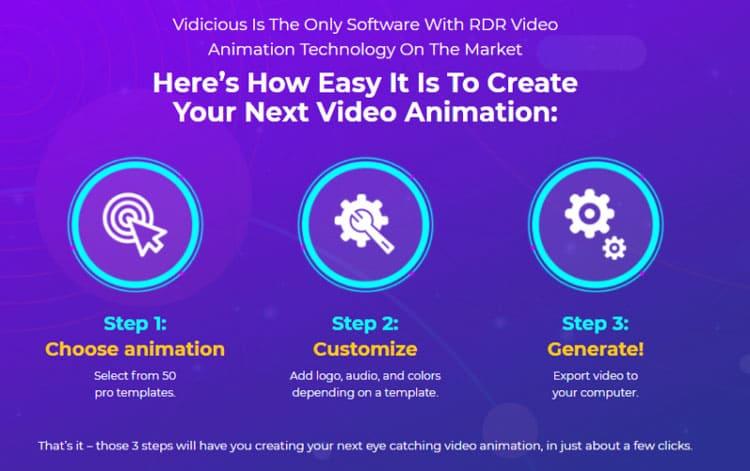 How to use Vidicious