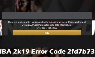 NBA 2k19 Error Code 2fd7b735 2021